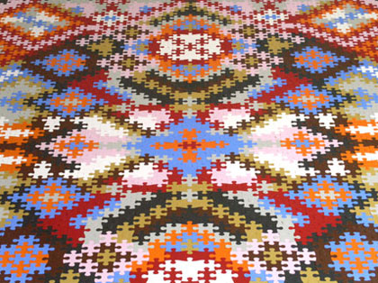 Puzzle Persian Rug Katrin Sonnleitner 3