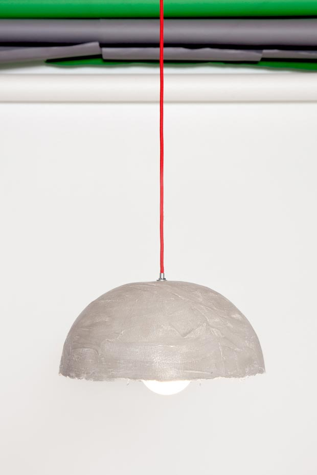 Remiz ceiling lamp by Sara Kele