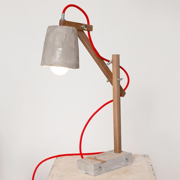 Remiz desk lamp by Sara Kele