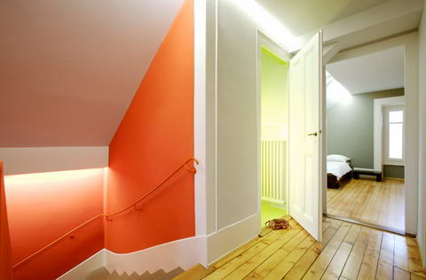 Renovated interior Group8 architects Switzerland 8