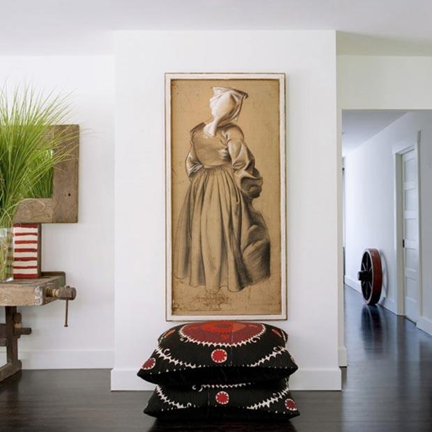 retreat mansion wall decoration by Antonio Martins Interiors
