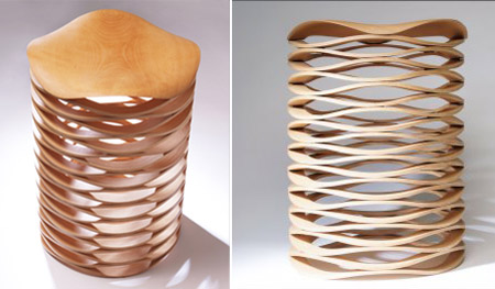 Sahara Stool by Chris Ruhe