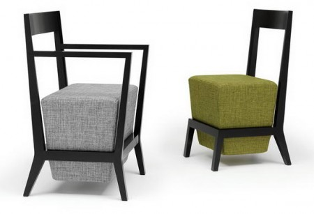 Schema Carver Chairs by Geoff Machen