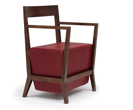 Schema Carver Chairs by Geoff Machen leather