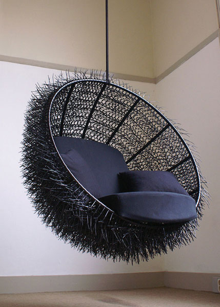 Sea Urchin chair by Rachel van Outvorst from Oooms