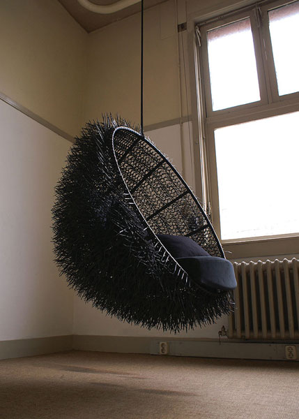 Sea Urchin chair by Rachel van Outvorst from Oooms 2