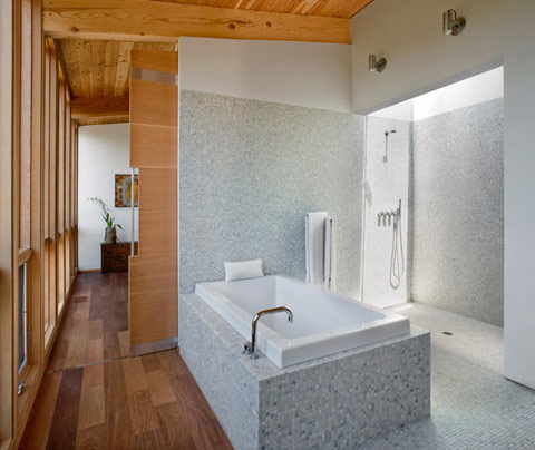 Sebastopol Residence TGH Architects bathroom