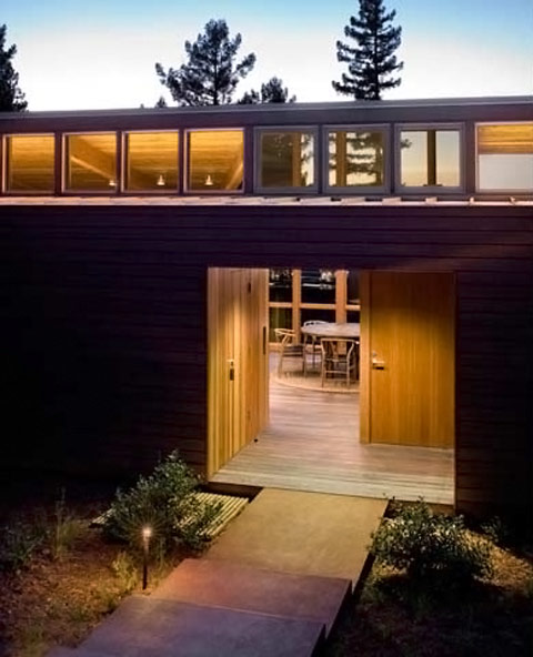 Sebastopol Residence TGH Architects entry