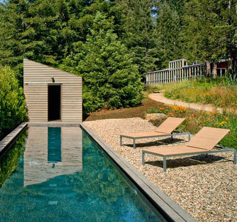 Sebastopol Residence TGH Architects pool