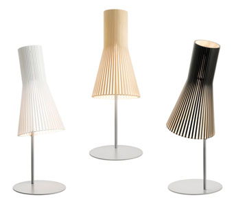 Secto Lamps by Seppo Koho Secto Design desk lamps