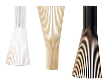 Secto Lamps by Seppo Koho Secto Design wall lamps