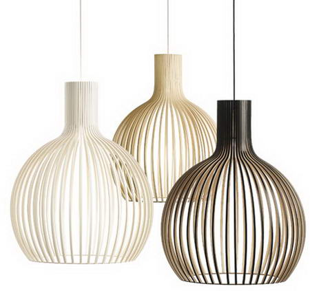 Secto Lamps by Seppo Koho Secto Design pendant lamps