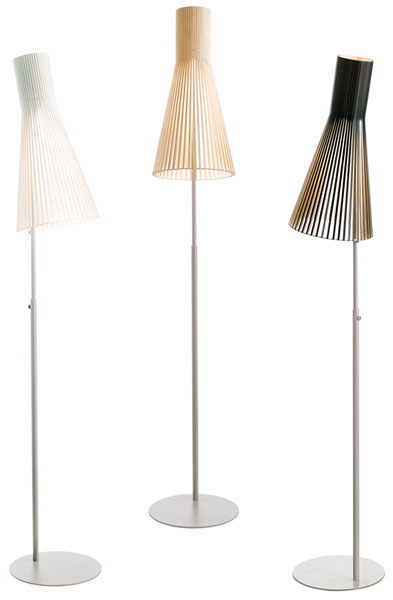 Secto Lamps by Seppo Koho Secto Design floor lamps