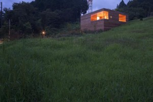 small wood house by ACAA