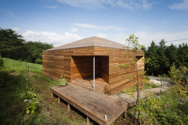 Small wood house by acaa decojournal - Small wood homes ...