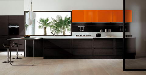 Snaidero Kitchen Inspiration orange