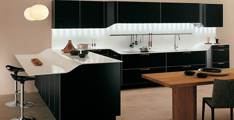 Snaidero Kitchen black
