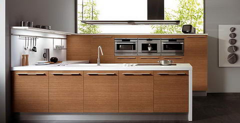 Snaidero Kitchen Inspiration wood simple