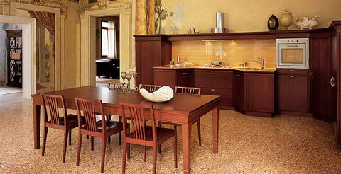 Snaidero Kitchen Inspiration wood classic