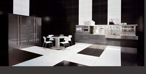 Snaidero Kitchen Inspiration wenge white
