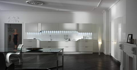 Snaidero Kitchen Inspiration white design