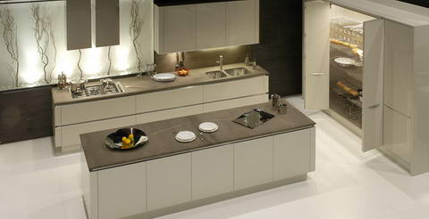 Snaidero Kitchen Inspiration white above