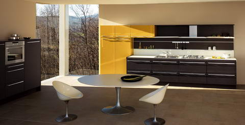 Snaidero Kitchen Inspiration yellow