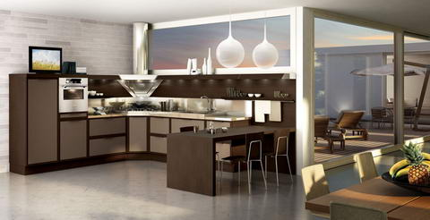 Snaidero Kitchen Inspiration wenge cream