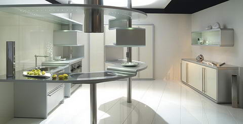 Snaidero Kitchen Inspiration white unusual