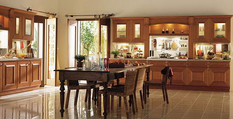 Snaidero Kitchen classic wood