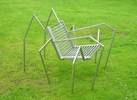 Spider chair Erik Griffioen