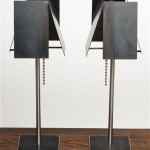 Steel Desk Lamps by Tod Von Mertens