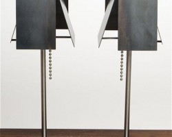 Industrial Design: Steel Shade Lamp By Tod Von Mertens