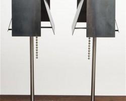 Industrial Design: Steel Shade Lamp By Tod Von Mertens