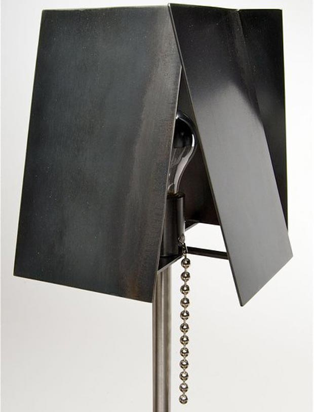 Steel Lamp by Tod Von Mertens