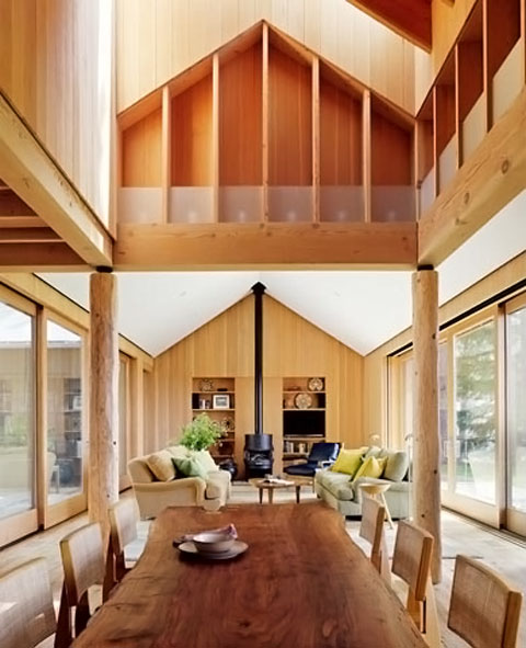 Summer Lake Tahoe House TGH Architects 06