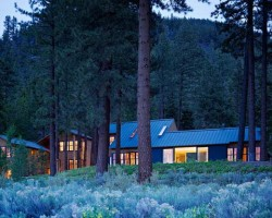Lake Tahoe Residence By Turnbull Griffin Haesloop Architects