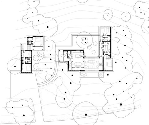 Summer Lake Tahoe House TGH Architects plan