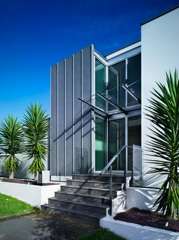 Town House facade St Heliers CCCA Studio