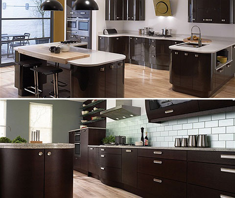Wenge Kitchen wooden floor SN Collection
