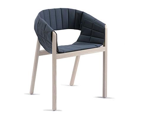 Wogg 42 armchair Jorg Boner blue