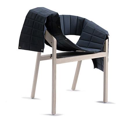 Wogg 42 armchair Jorg Boner blue 2