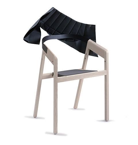 Wogg 42 armchair Jorg Boner blue 3