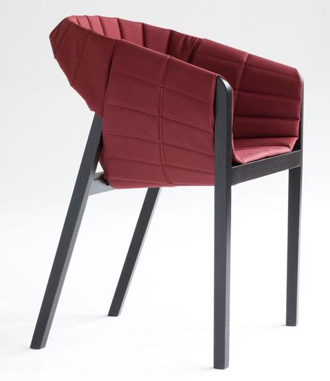 Wogg 42 armchair Jorg Boner red