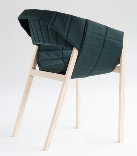 Wogg 42 armchair Jorg Boner green