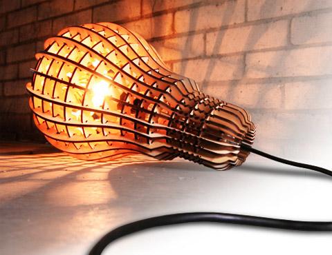 Wooden Bulb Barend Hemmes