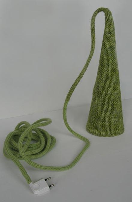 Woolmark green lamp Philippe Tyberghien 4